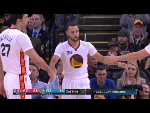 Stephen Curry vs Los Angeles Clippers 28.01.2017 (43Pts)