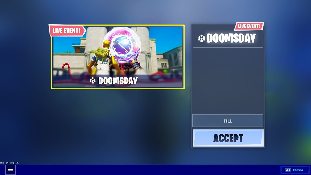Fortnite Doomsday Event New Youtube