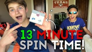 World Record: Longest Spin for a Fidget Spinner (13 Minutes)