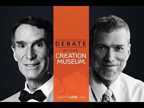 Bill Nye Debates Ken Ham Hd Official