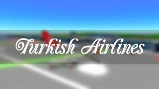 ROBLOX | Turkish Airlines Boeing 737 Flight