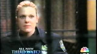 THIRD WATCH (2004) Trailer KATE JACKSON HENRY WINKLER Rare