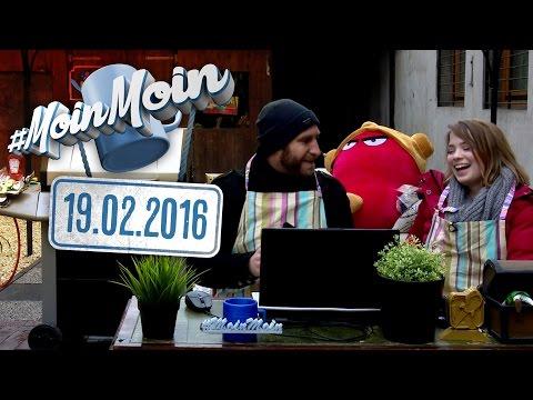 #MoinMoin mit Nasti und Hannes   Mitten im Garten: Hot Grills im Winter   19.02.2016