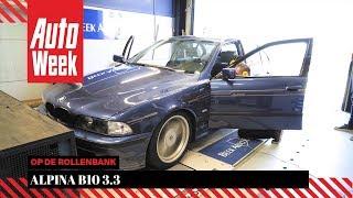 Alpina B10 3.3 - Op de Rollenbank