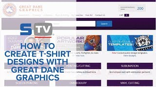 How to Create T-Shirt Designs with Great Dane Graphics