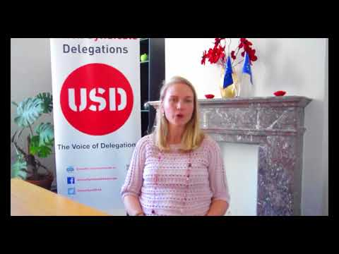 Natalie Demontagny - Legal support for Union Sydnicale