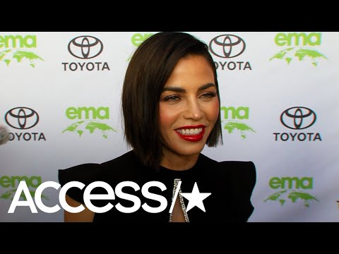Jenna Dewan Reacts To Scott Evans' '90s Dance Moves  Access