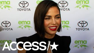 Jenna Dewan Reacts To Scott Evans' '90s Dance Moves | Access