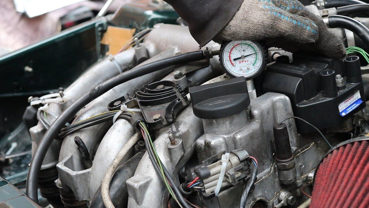 Замер КОМПРЕССИИ двигателя. Диагностика ПОРШНЕВОЙ ДВС