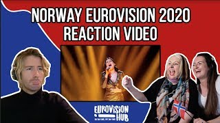 Norway | Eurovision 2020 Reaction | Ulrikke - Attention
