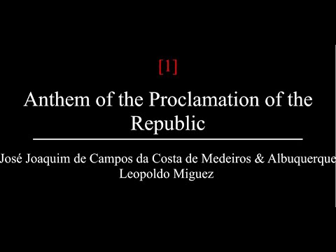 Hino da Proclamação da República (Brazilian Republic Anthem | English Lyrics | Translation)