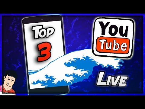 Top 3 Apps to Live Stream on YouTube from your Phone