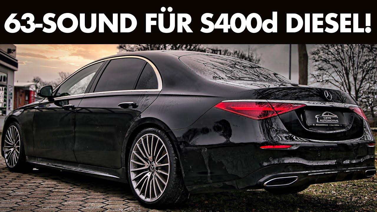Brutales Soundmodul für Mercedes Benz S400d 2021 W223 | Cete Automotive