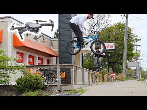 BMX and DRONES 2: DJI MAVIC PRO!