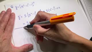 Calculus review - derivatives and trigonometry asmr