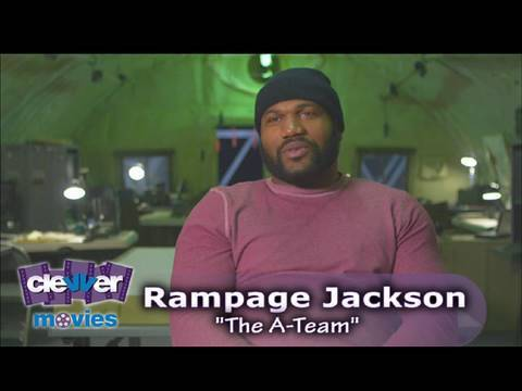 Rampage Jackson Interview The A Team Youtube