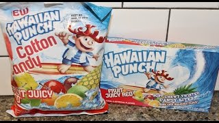 Hawaiian Punch Fruit Juicy Red Cotton Candy & Candy Bites Review