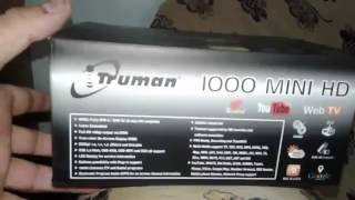 truman 1000 mini HD .... رسيفر ترومان المينى 1000