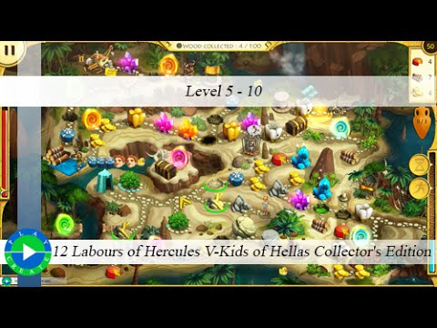 12 Labours of Hercules V-Kids of Hellas CE - Level 5-10 |