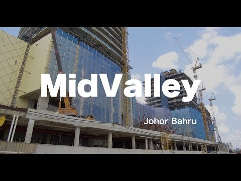 Progress of MidValley Johor Bahru - as 09 Oct 2018