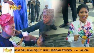 Newly Wed Bidemi Kosoko Rocks Her Dad Jide Kosokos 65th Birthday With Oga Bello Fathia  Odunlade