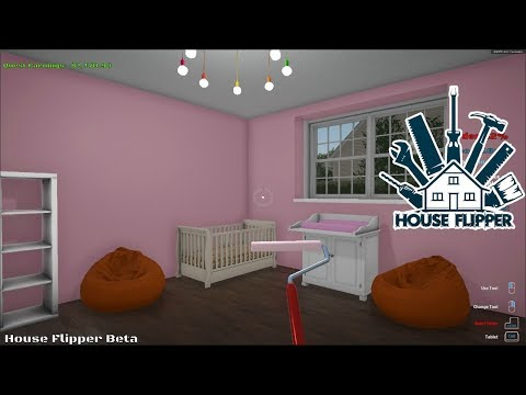 HOUSE FLIPPER (BETA) - MAKING A BABY ROOM & FLIPPING MY SECOND HOUSE - YouTube