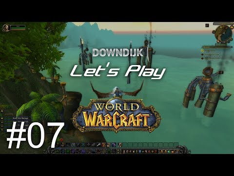Let's Play World of WarCraft - Leveling in The Cape of Stranglethorn (Human Hunter) #7