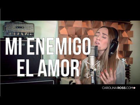 Mi enemigo el amor - Pancho Barraza (Carolina Ross cover) En Vivo Sesión Estudio