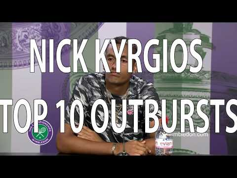 Nick Kyrgios Top 10 Outbursts
