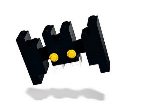 How To Build - Halloween Lego Bat 40014 - Instructions - YouTube
