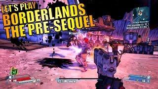 Borderlands The Pre-Sequel Xbox 360 Gameplay - Let