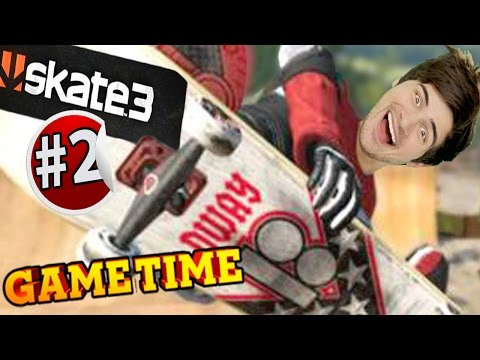 BREAKING BALLSACKS IN SKATE 3 - PART 2 (Gametime w/ Smosh Games)
