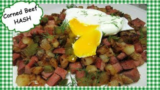 How to Make Homemade Corned Beef Hash ~ Leftover Corned Beef Recipe
