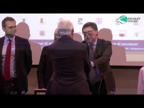 Pharma Expo 2015 Premiazione del Cav. Dott. Luigi Guacci