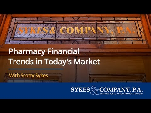 Pharmacy Financial Trends in Today's Market