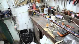 Подключение светодиодов к компьютерному блоку питания 3.3 волт(Освещение в гараж. Использовал 1 ватт 28 штук . напрямую к компьютерному блоку питания 3.3 вольта., 2015-12-08T09:25:25.000Z)