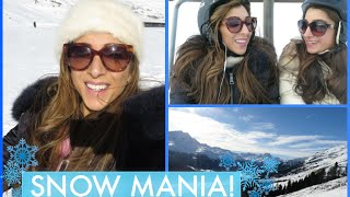 SNOW MANIA in Switzerland! Vlogmas Day 23 | Amelia Liana Thumbnail