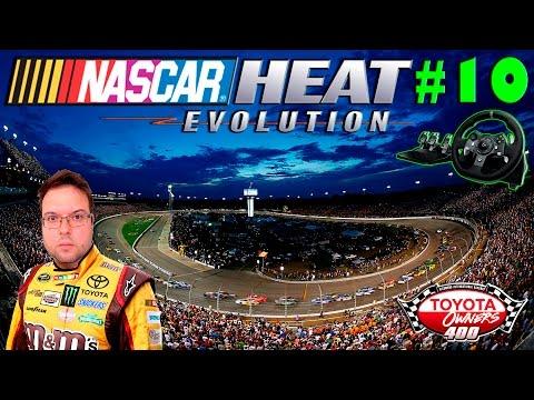 Nascar Heat Evolution Carreira #10 Richmond International Raceway - Danica Patrick a Mulher TPM!!