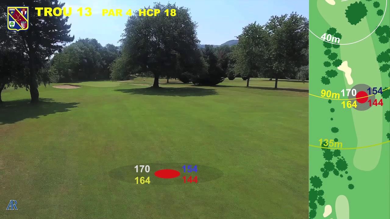 Vidéo du trou numéro 13 | Golf La Barouge Mazamet
