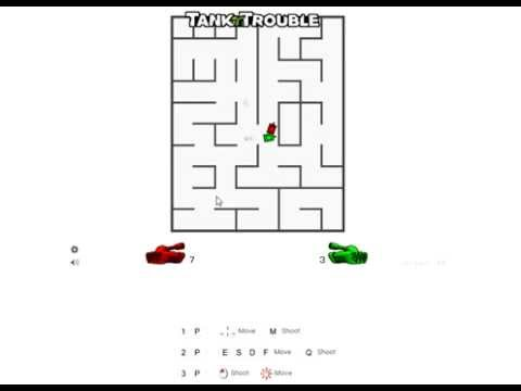 Tank trouble 2 player youtube