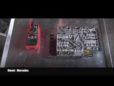 Mercedes Transmission 722.6 Shift Solenoid Testing