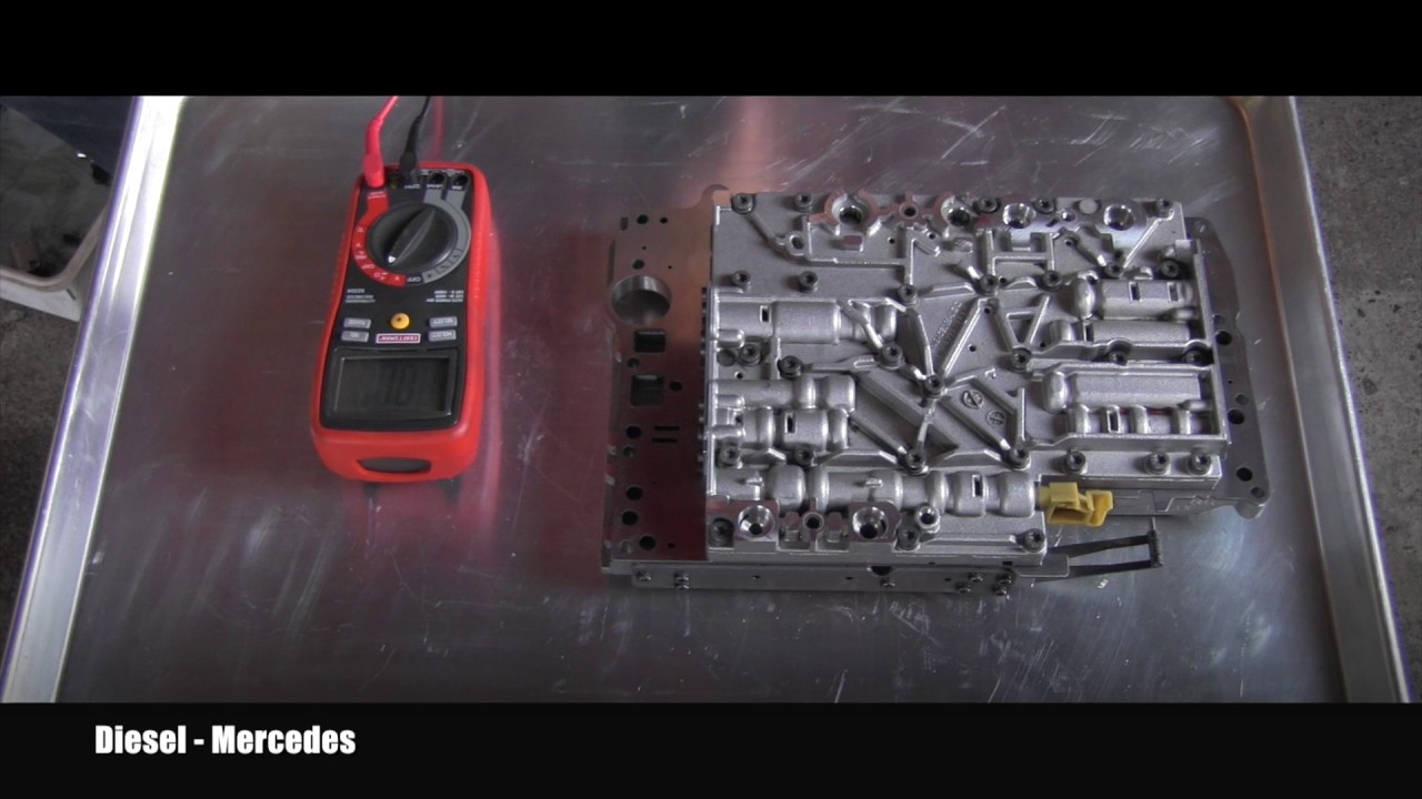 Mercedes Transmission 7226 Shift Solenoid Testing Youtube Benz W220 Wiring Diagram