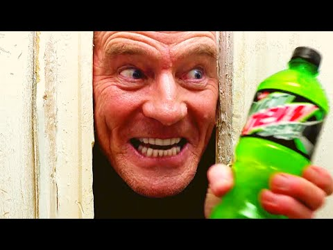 BRYAN CRANSTON THE SHINING MTN Dew Commercial
