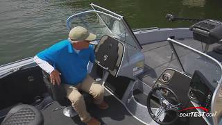 Triton 206 Allure Reviewed by BoatTest.com