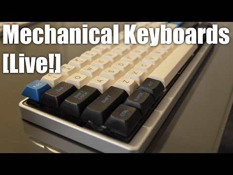 LIVE! Mechanical Keyboards - New keycaps!!!