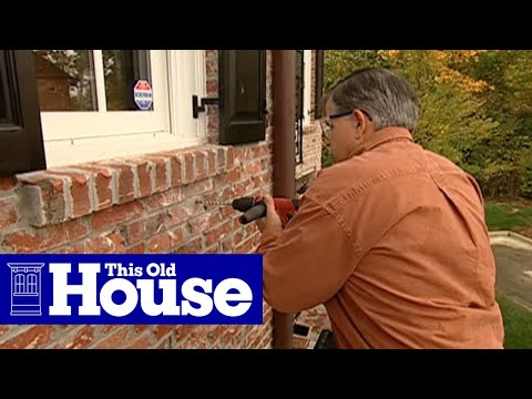How To Attach Window Boxes To Brick Siding This Old