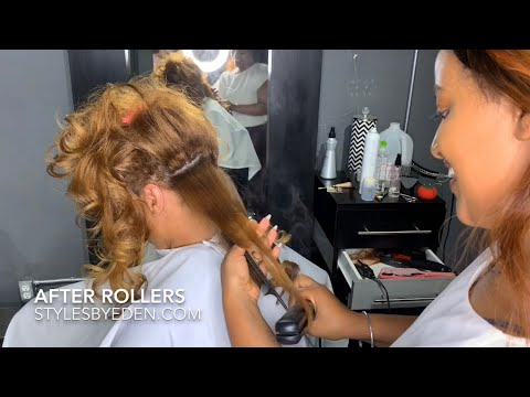 beautiful-classic-natural-wavy-hair-/-roller-set/color-done-by-stylesbyeden