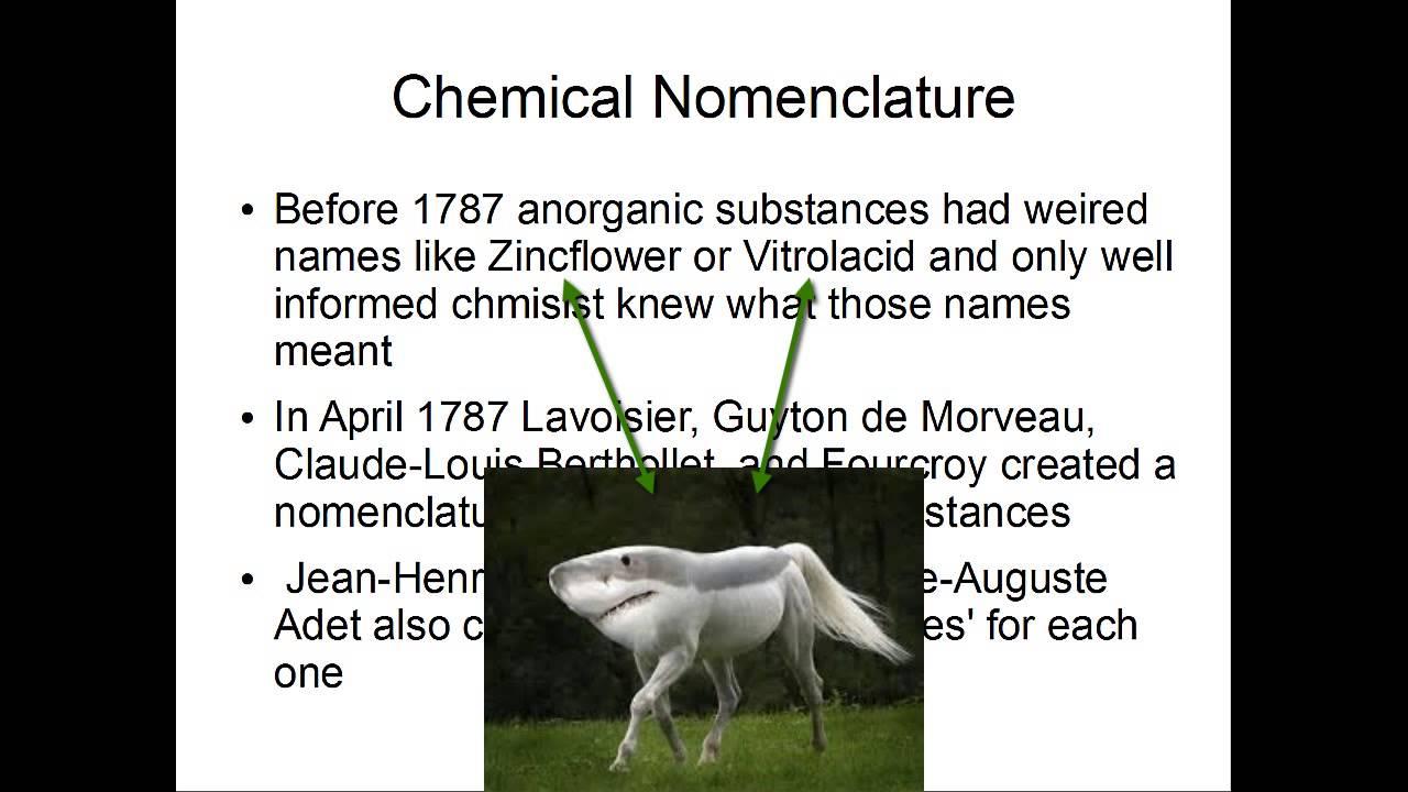 Antoine Lavoisier Elements Nomenclature And Hydrogen Youtube
