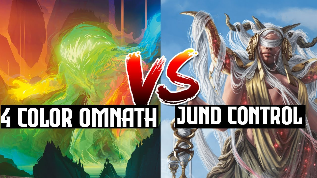 Jund Control vs 4 Color Omnath on MTG Arena Standard Ladder | Magic Arena Magic the Gathering Arena