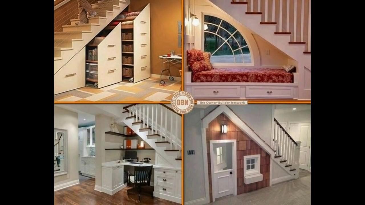 Los mejores 30 ideas para aprovechar el espacio bajo la for Cocinas debajo de las escaleras
